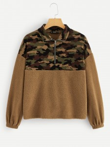 Veel kleurig Casual Geometrisch kleutermeisje tweestuk setjes Toddler Girl