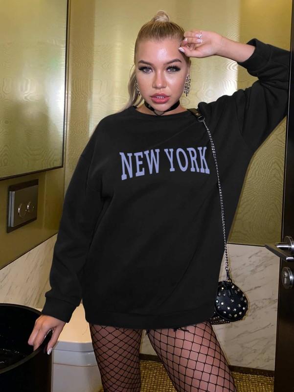 Zwart Elegant Gestreept Tweedelige Uitrusting Rits Two-piece Outfits