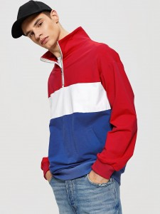 Contrast Trim Sparkle Jacket With Pants Two-piece Outfits