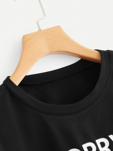 Tropical Print Tassel Tie Bardot Top With Shorts Two-piece Outfits