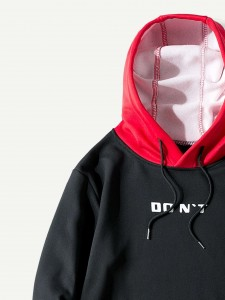 Deep V Neck Eyelet Frayed Tank Dress With Colorful Striped Cami Top Two-piece Outfits