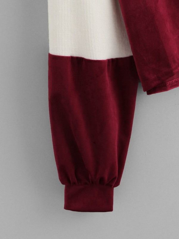 Varsity Print Tee & Pants Set Two-piece Outfits