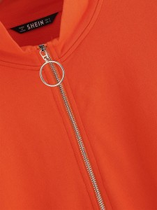 Striped Print Crop Top & Pants Set Plus Size Co-Ords