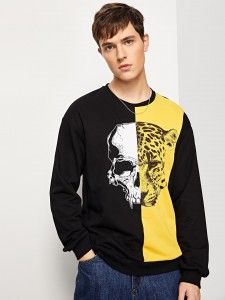 Tied Split Back Pinstripe Top & Shorts Set Two-piece Outfits