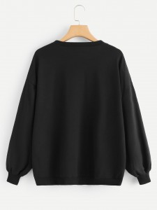 Girls Embroidered Appliques Striped Top & Skirt Set Girls Clothing