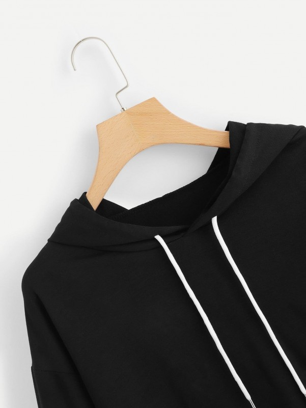 Ruffle Hem Pinstripe Cami & Belted Shorts Set Two-piece Outfits