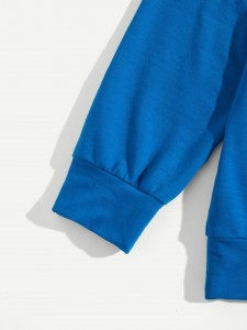 Plus Graphic Print Zip Back Two-piece Outfit Plus Size Co-Ords
