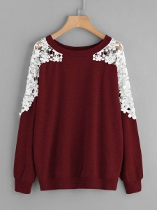 Asymmetric Cold Shoulder Distressed Graphic Tee Tops