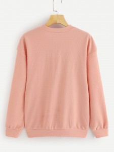 Criss Cross Top & Graphic Print Split Side Skirt Two-piece Outfits