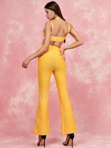 Glitterende shirt met letters en strepen Tops