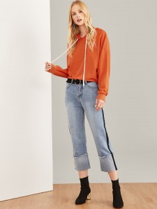 Currency Pattern Tee Tops