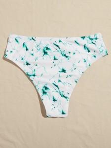 Wit Casual Vlak Poloshirts voor heren Knoop Men Tops