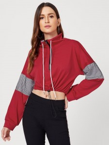 Men Deep V Neck Ribbed Tee Men Tops