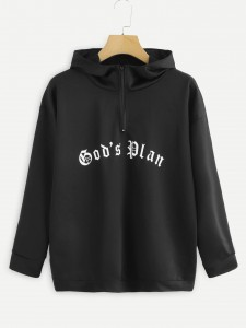 Plus Graphic Print Hollow Out Tee Plus Size Tops