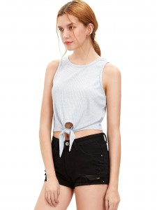 Solid Waterfall Neck Button Detail Belted Coat Coats & Jackets