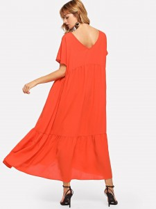 Men Button Waist Ripped Washed Jeans Men Clothing