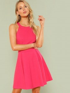 Toddler Girls Contrast Faux Fur Fluffy Boots Kids Shoes