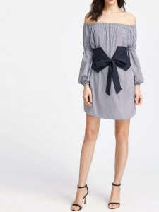 Tie Neck Layered Ruffle Trim Blouse Blouses