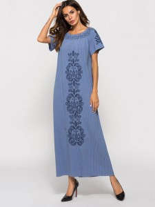Striped Letter Graphic Canvas Tote Bag Women Bags