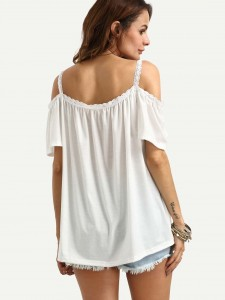Bar & Gemstone Drop Earrings 1pair Jewelry