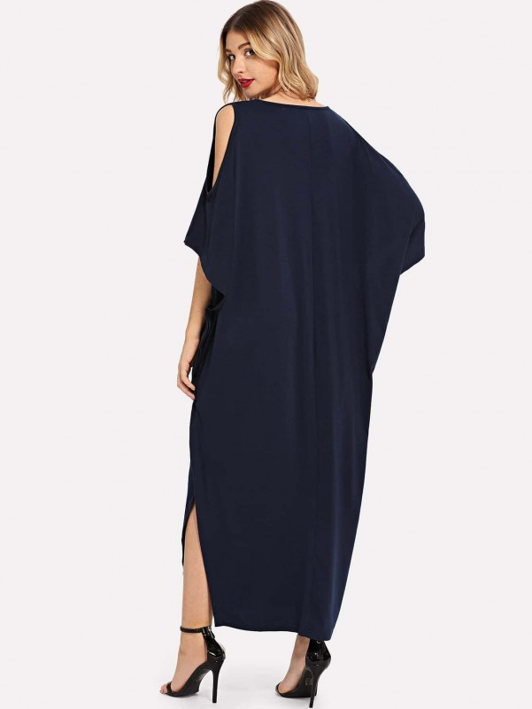 Girls Floral Print Cold Shoulder Frill Smock Dress Girls Dresses