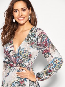 Buckle Decor Croc Embossed Ankle Boots Women Shoes