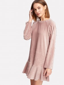 Pointy Toe Chunky Heel Ankle Boots Women Shoes