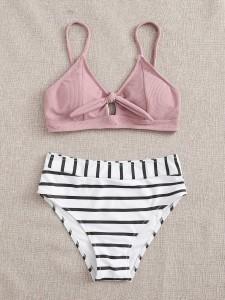 Snakeskin Pattern Heels Women Shoes