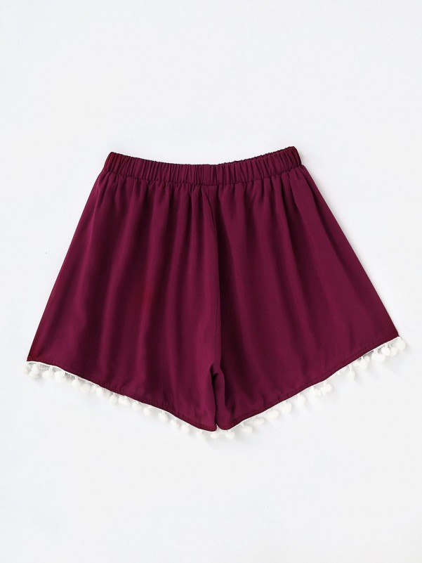 Girls Mock-neck Velvet Tee and Tie Front Split Skirt Set Girls Two-piece Outfits