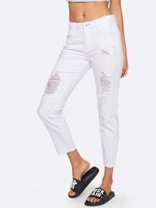 Boys Slogan Two Tone Top & Patched Shorts Set Boys