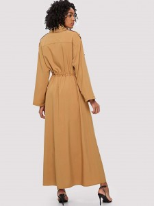 Snakeskin Print Buckle Decor Chunky Boots Women Shoes
