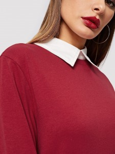 Pointed Toe Studded Decor Flats Women Shoes