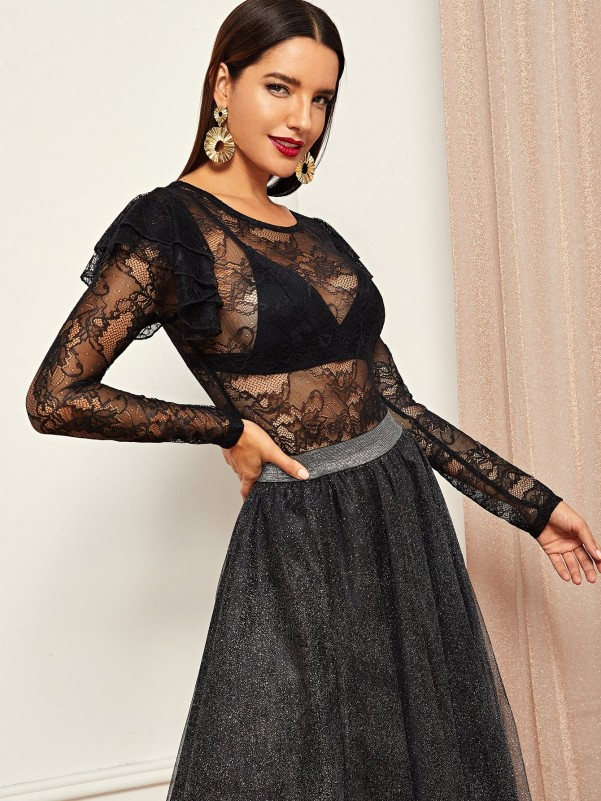 Net Surface Colorful Lace Up Sneakers Women Shoes
