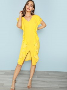 Pointed Toe Woven Mule Flats Women Shoes