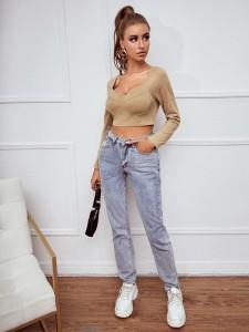 Leaf Print Fringe Trim Plain Quilt Bedding