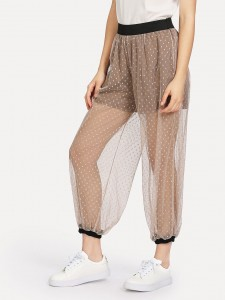 Striped Knot Front Ankle Strap Sandals Women Shoes