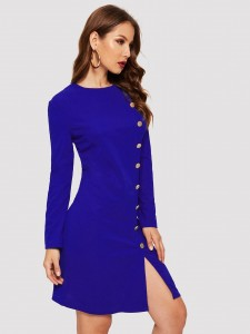 Transparent Chunky Heeled Mules Women Shoes
