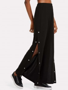 Korean version of the gold rose gold titanium steel necklace female geometric simple 18K plated Jewelry