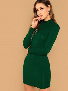 Women's high black leather boots Women Shoes