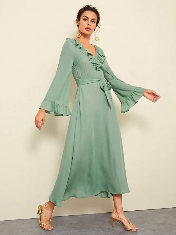 Two bags of brown chamois Women Bags