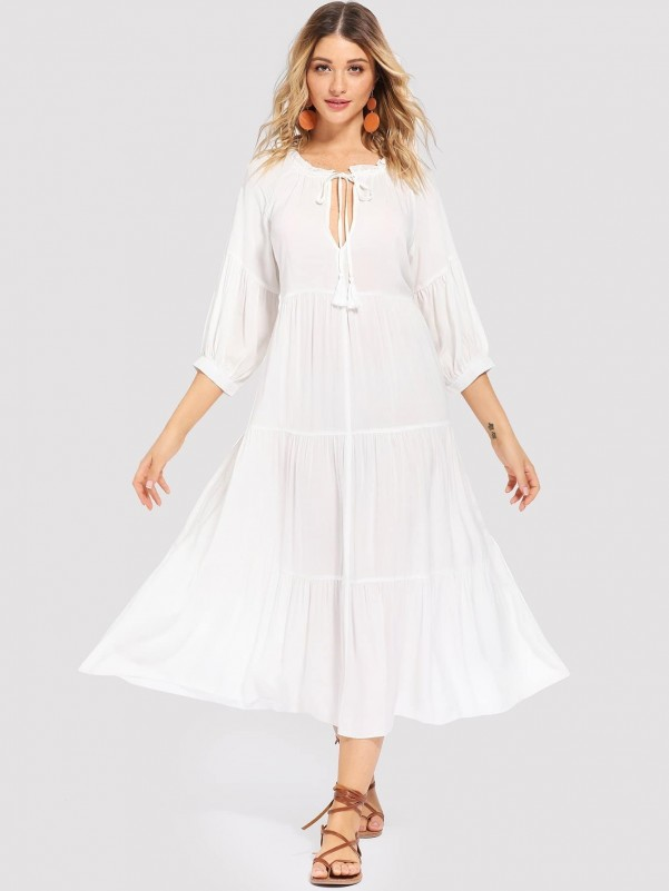 Clash cloth with brown leather Women Shoes